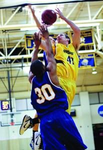 Robby Meeh, Webster University men's basketball