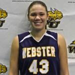 Katy Meyer, Webster University women's basketball