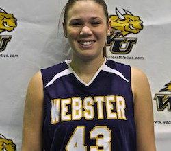Katy Meyer, Webster University women's basketball