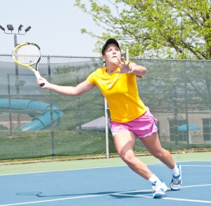 Lindsey Hays, Webster women's tennis