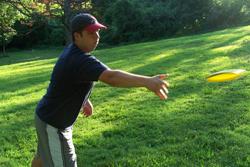Tyler Jensen, Webster University disc golf player