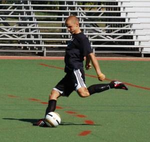 Kyle Leonard, Webstr University men's soccer