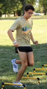 Tony Morales, Webster University men's cross-country runner