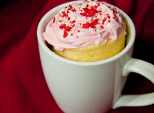 Try serving this easy microwaveable cupcake in-a-mug  to your significant other on Valentine's Day
