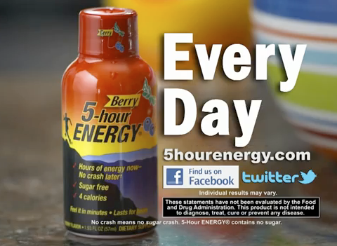 Taking a shot at 5-Hour Energy