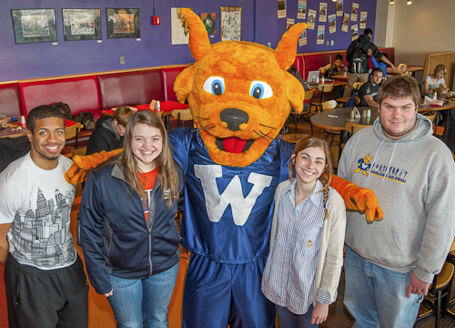 Webster University purchases, designs new Gorlok mascot costume