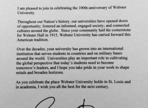 Obama's Letter to Webster