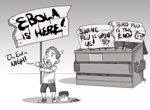 Ebola: another false epidemic trend