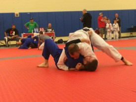 Photo by Macy Salama Shane Jenne competed in his first jui jitsu compition sunday.