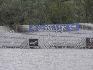 World Wide Technology Soccer Park is facing its second major flood in sixteen months / Photo by Andrew McMunn