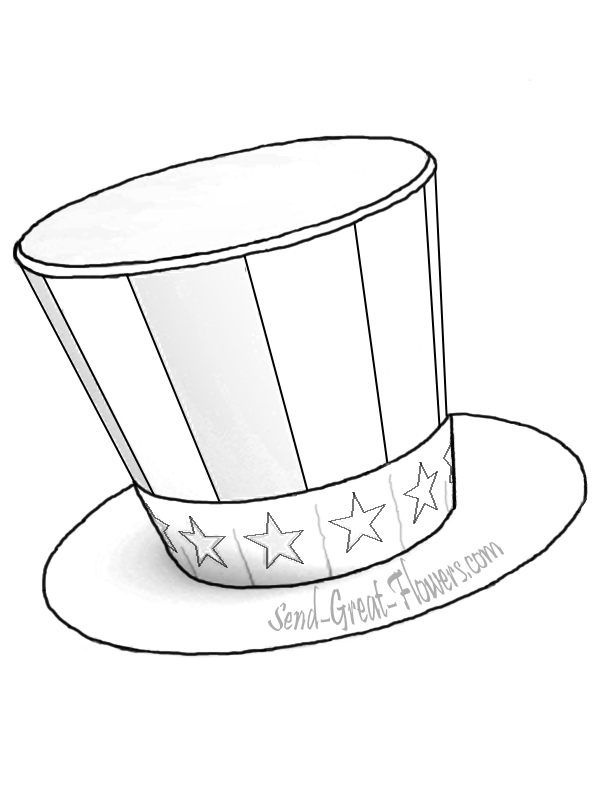 Abraham lincoln clipart lincoln top hat, Abraham lincoln
