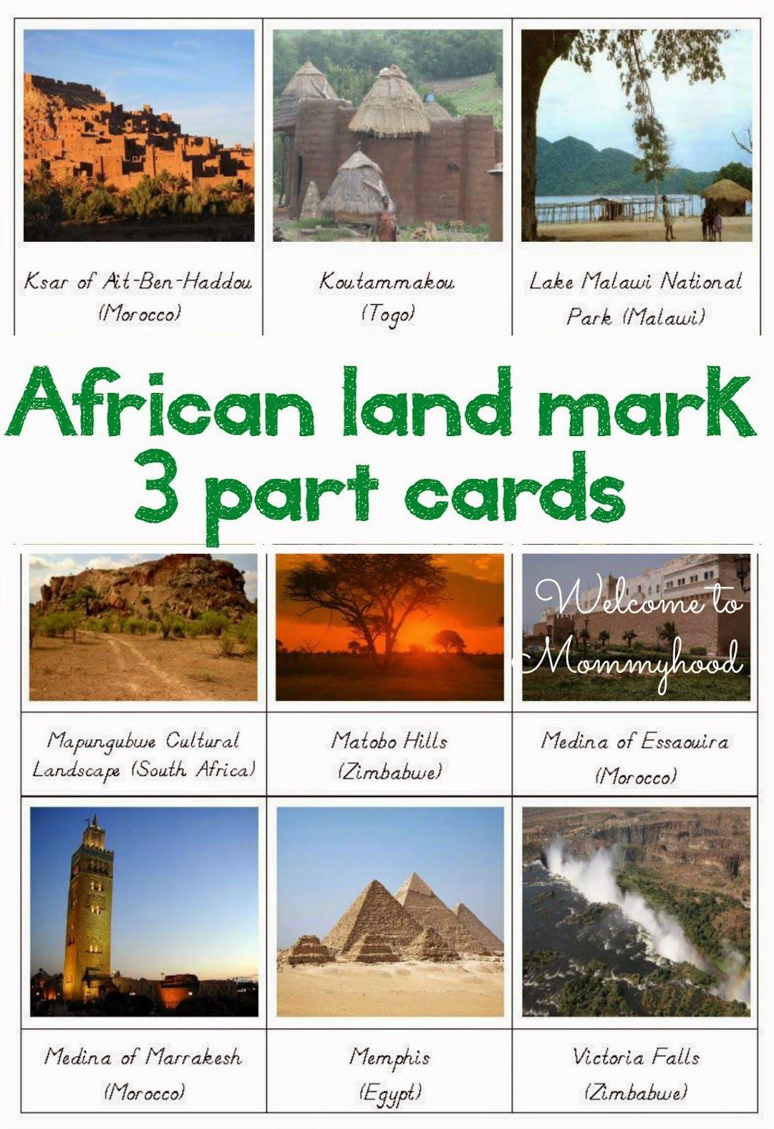 Africa Clipart Landmarks Africa Landmarks Transparent