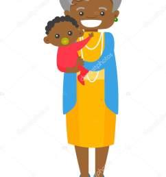 african clipart grandmother [ 1035 x 1700 Pixel ]