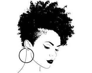 afro svg african woman american face clipart queen hair vector female natural etsy lady princess silhouette braids nubian diva eps