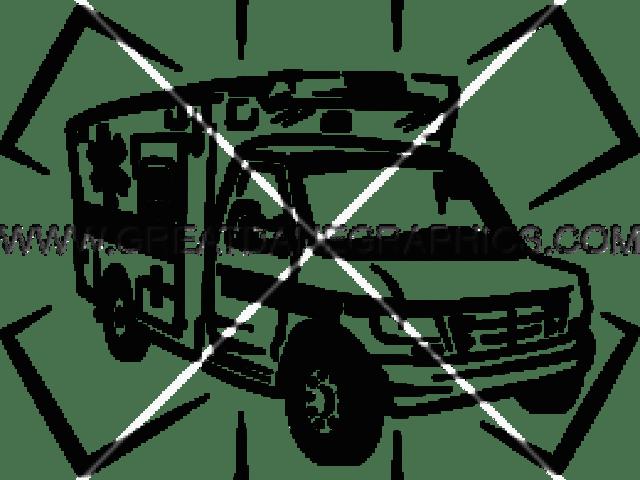 Ambulance clipart line drawing, Ambulance line drawing