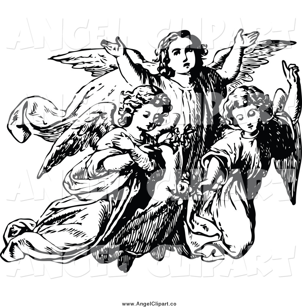 Angel Clipart Heaven Angel Heaven Transparent Free For