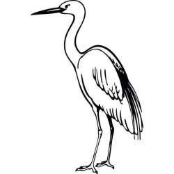 clipart crane webstockreview animal whiskey
