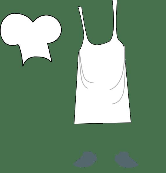 Apron clipart chef apron, Apron chef apron Transparent