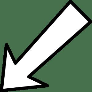 clipart arrow background clear transparent left webstockreview