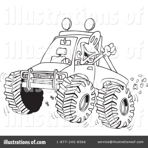 small resolution of four illustration by toonaday royaltyfree rf yamaha four wheeler atvs atv clipart banshee