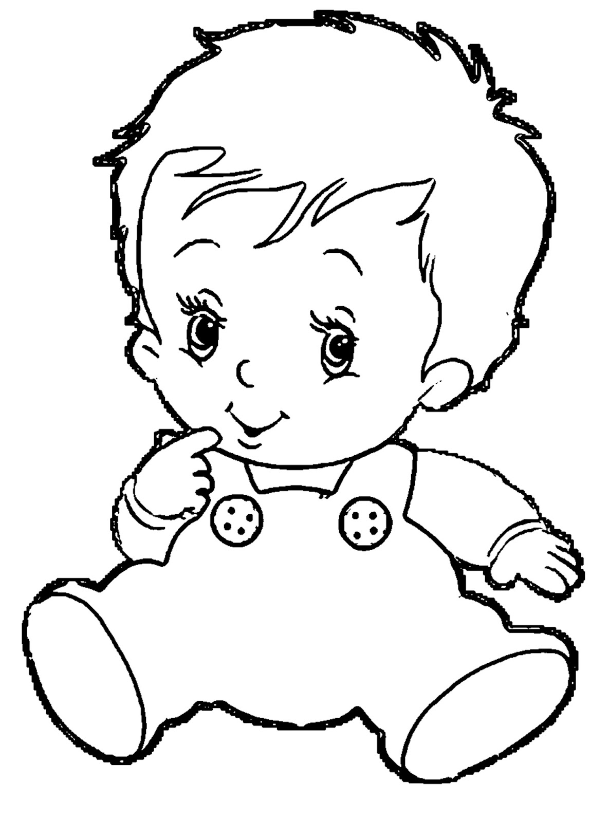 Black And White Baby Clipart : black, white, clipart, Clipart, Black, White,, White, Transparent, Download, WebStockReview