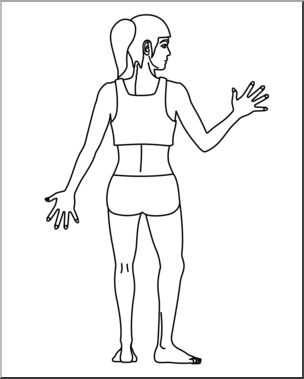 Back clipart body back, Back body back Transparent FREE