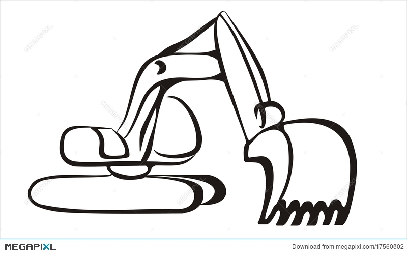 Backhoe clipart gambar, Backhoe gambar Transparent FREE