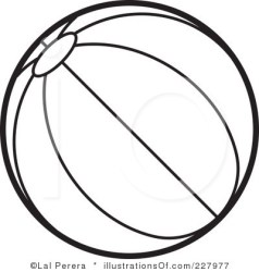 Beachball clipart black and white Beachball black and white Transparent FREE for download on WebStockReview 2020