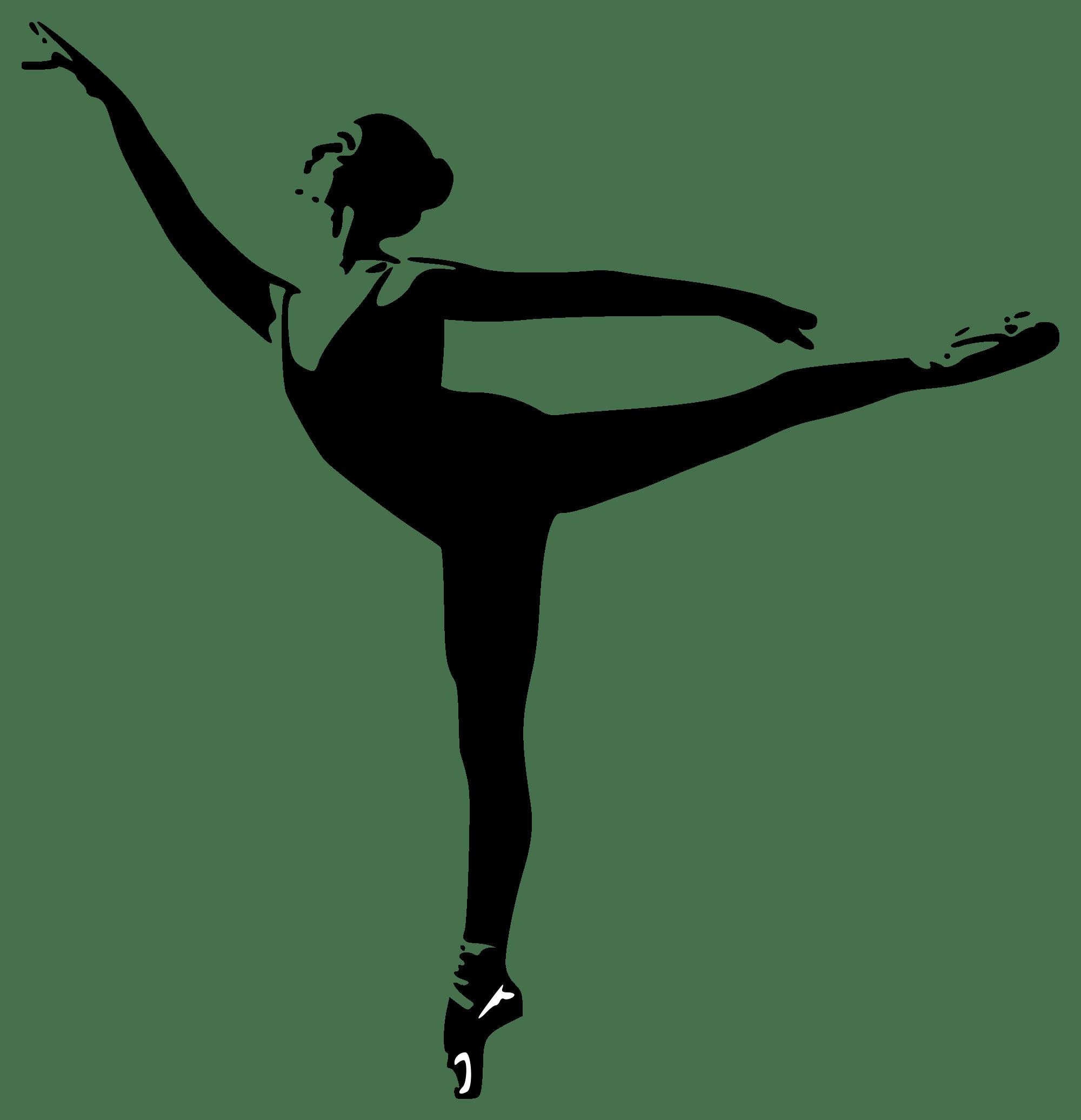 Baby Ballerina Silhouette