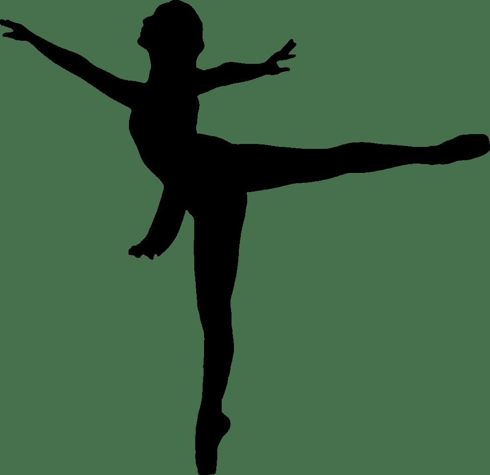 medium resolution of dancing clipart vector silhouette ballerina at getdrawings