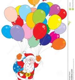 balloons clipart christmas [ 940 x 1300 Pixel ]