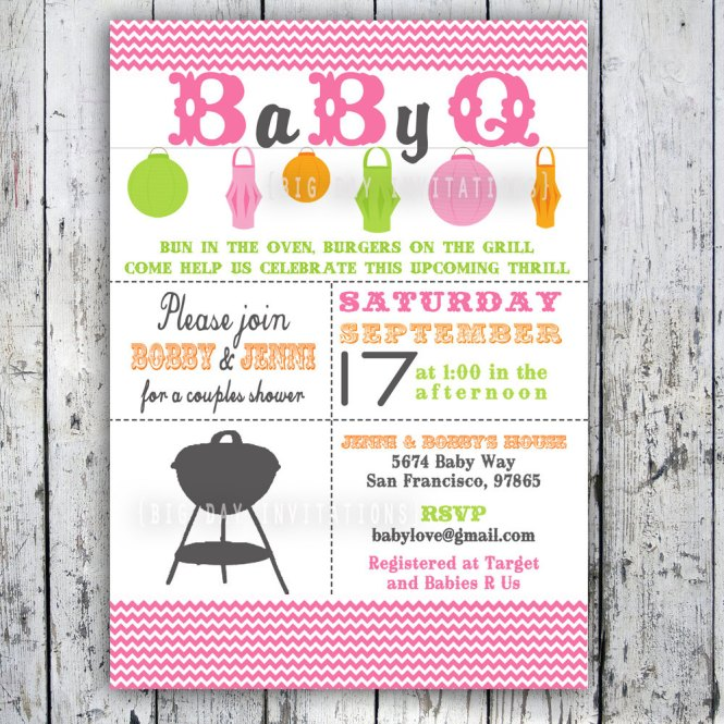 Barbecue Clipart Baby Shower