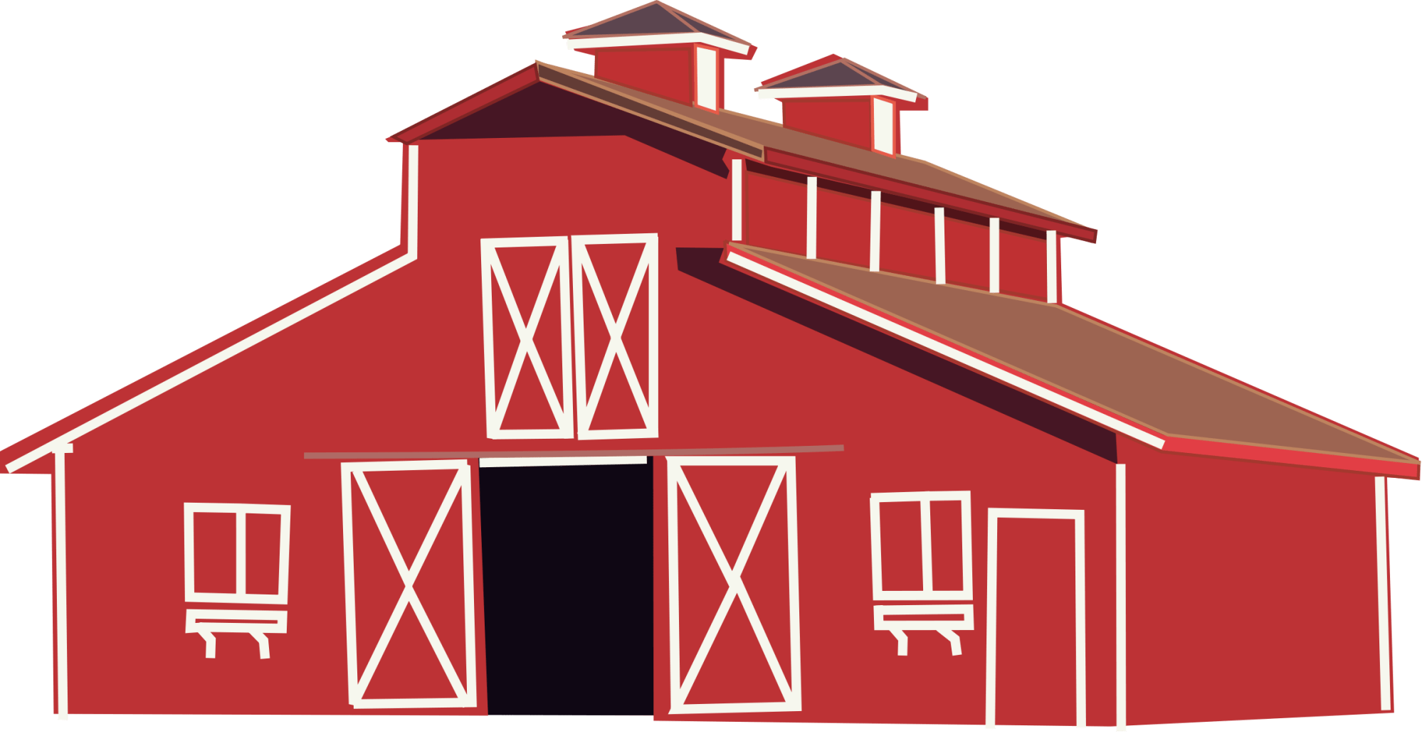 hight resolution of clipart horse stable red barn clip art