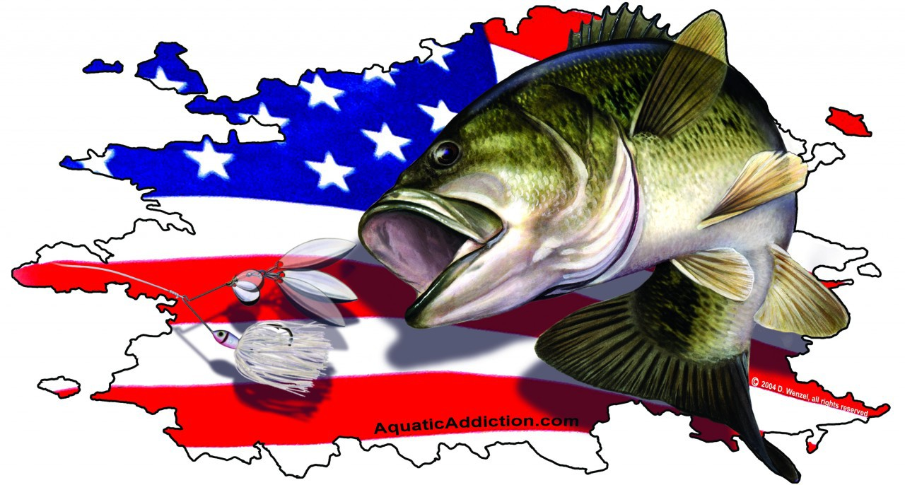 hight resolution of fishing when the was bass clipart lake fish
