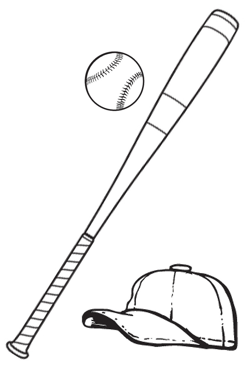 Baseball Drawing Easy : baseball, drawing, Baseball, Drawing, Ideas