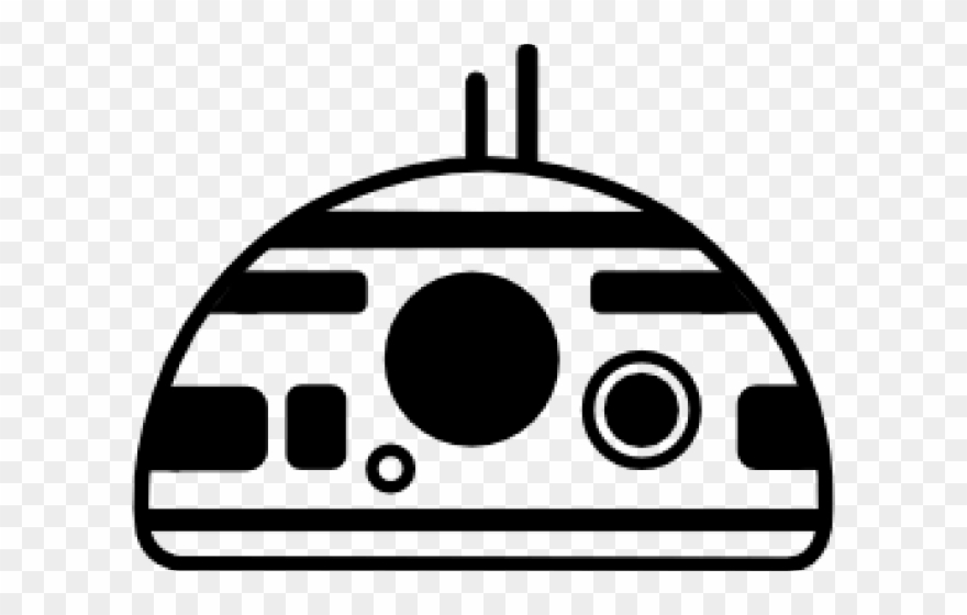 Bb8 clipart outline, Bb8 outline Transparent FREE for
