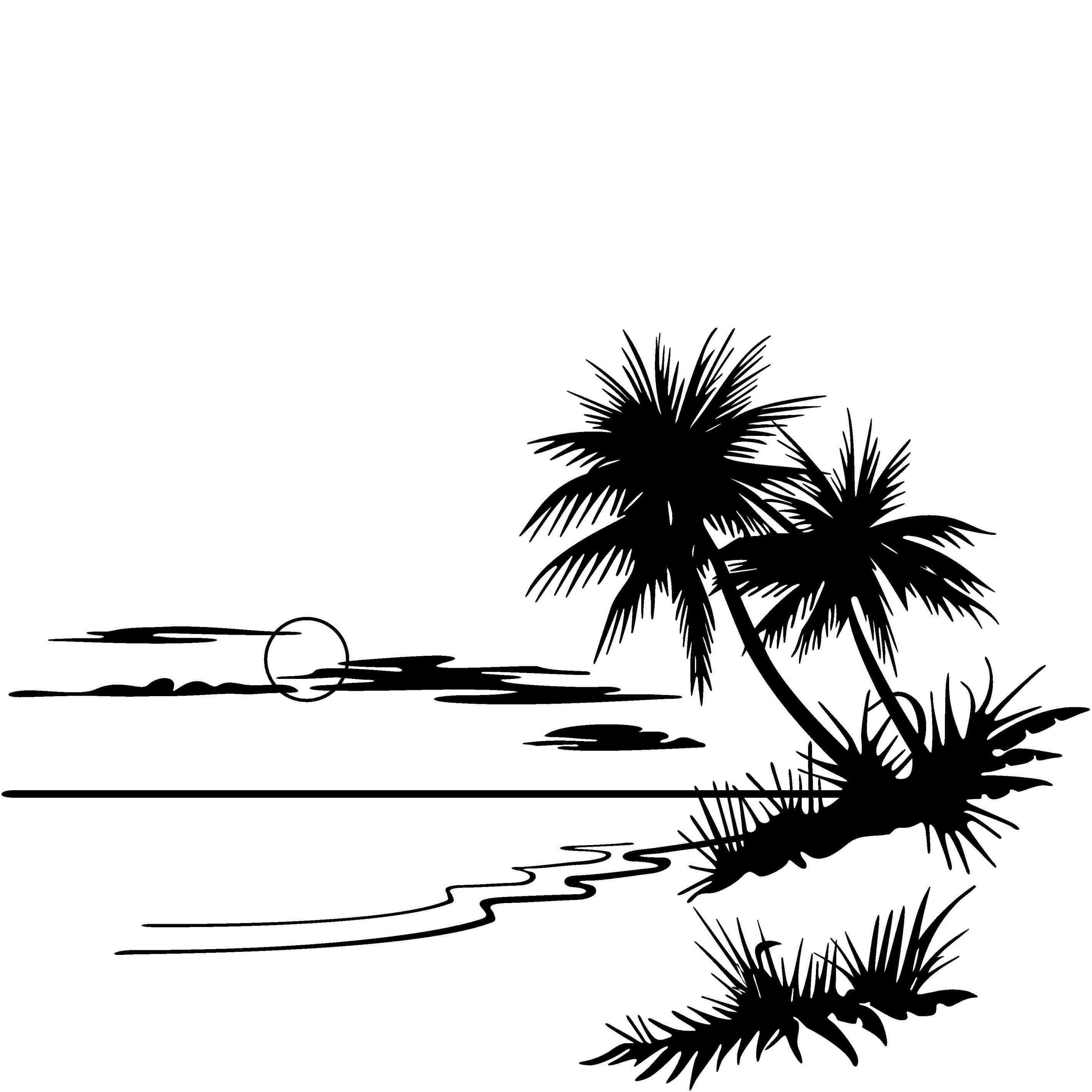 Clipart beach drawing, Clipart beach drawing Transparent