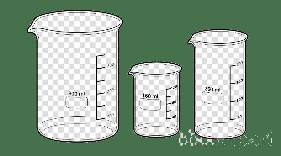 Beaker clipart diagram, Beaker diagram Transparent FREE