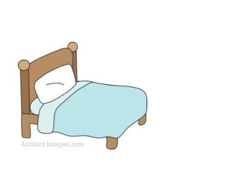 Transparent Background Cute Bed Clipart