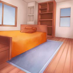 children s hospital: Hospital Bed Background Anime
