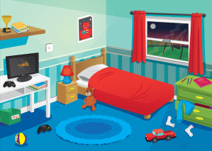 bedroom clip clipart cartoon bed boys clean library messy furniture transparent cliparts clipground webstockreview gi google gclipart