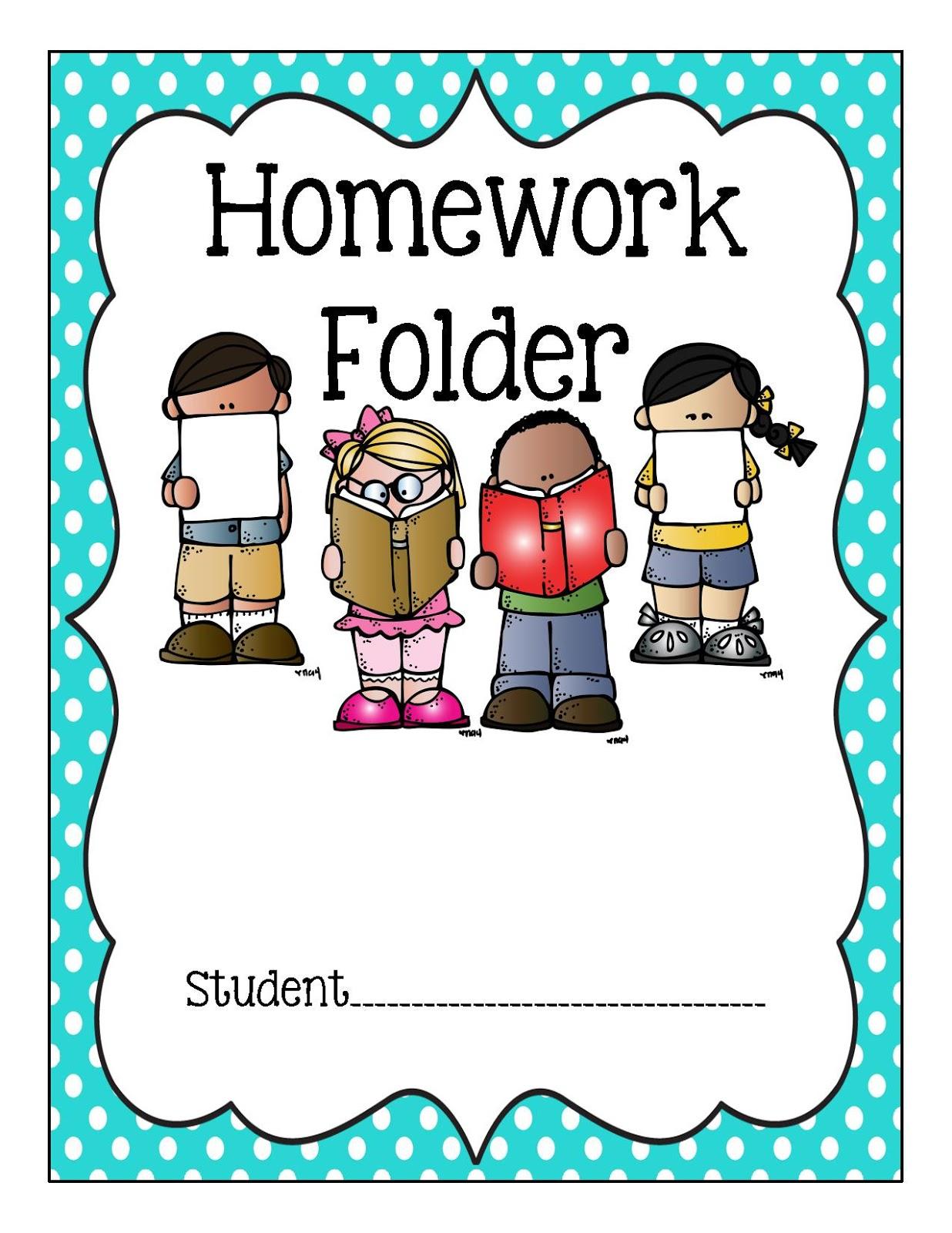 Binder Clipart Homework Binder Homework Transparent Free