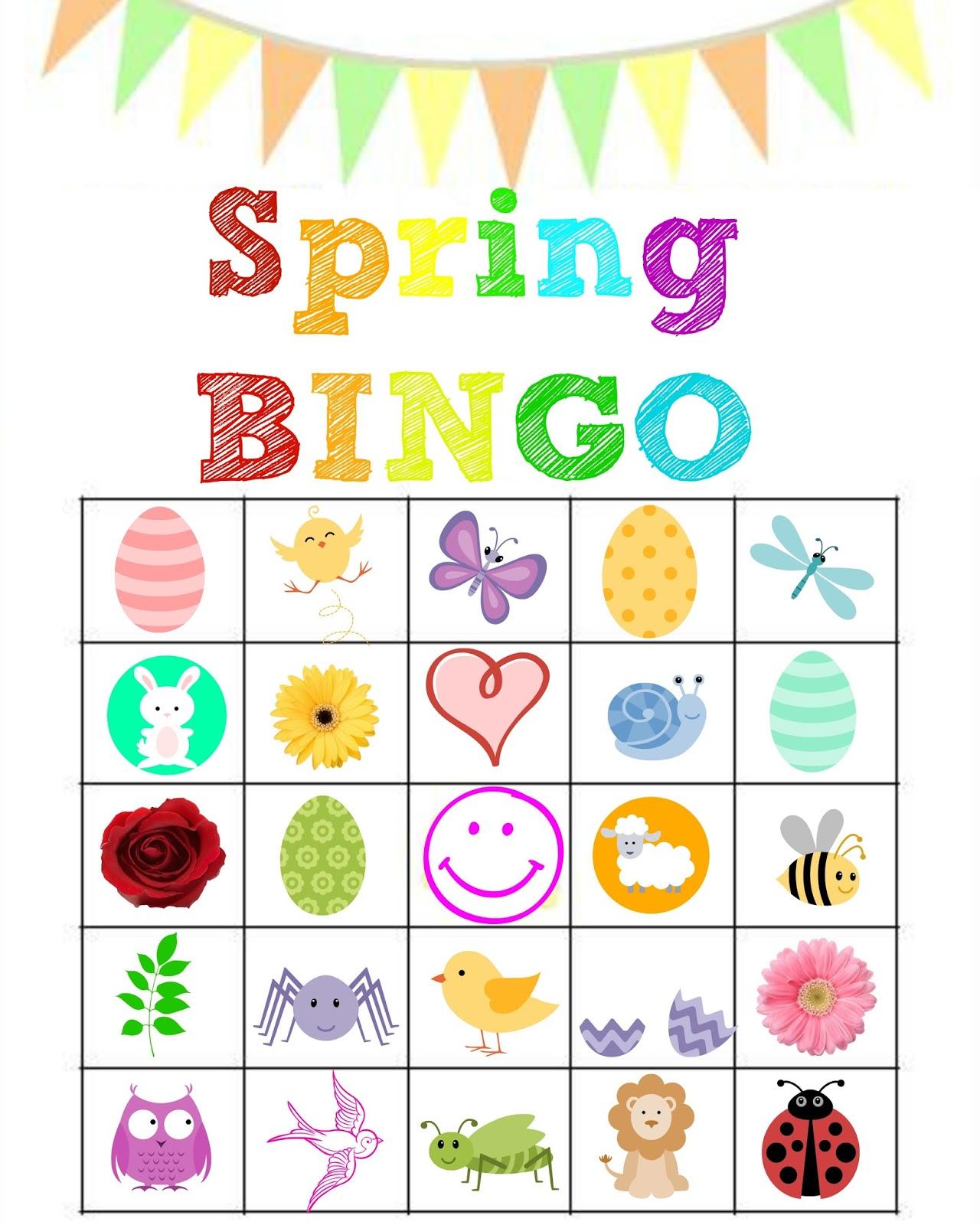 Bingo Clipart Spring Bingo Spring Transparent Free For