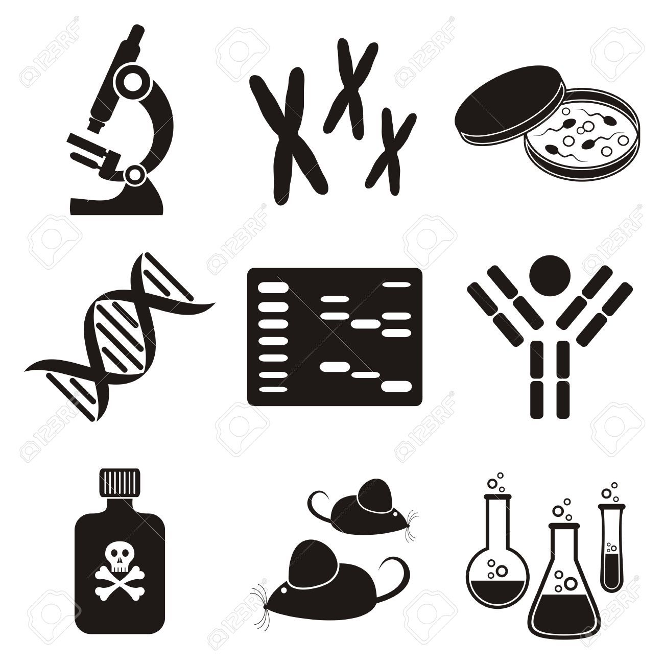 Biology clipart genetic engineering, Biology genetic