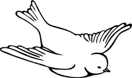 clipart birds bird line drawing flying transparent