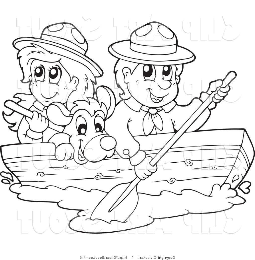 Boating Clipart Black And White Boating Black And White