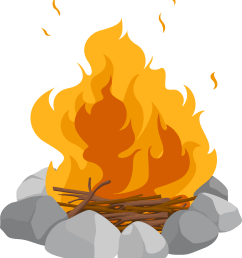 campfire png images transparent free download pngmart smores clipart  [ 2109 x 2400 Pixel ]