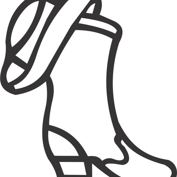 Boot clipart drill team, Boot drill team Transparent FREE