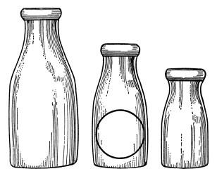 milk bottle clip bottles clipart illustrations graphics drawing antique glass dairy transparent paper olddesignshop illustration webstockreview country clipartmag jars catalog