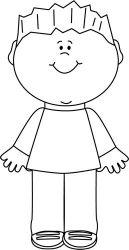 Boy clipart outline Boy outline Transparent FREE for download on WebStockReview 2020